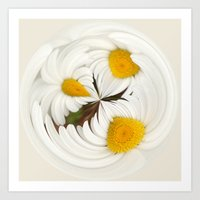 Pick Me Round - Daisy Art Print