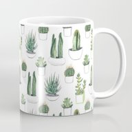 Watercolour Cacti And Su… Mug