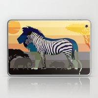 Sunset in Savanna Laptop & iPad Skin
