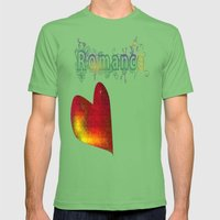 Romance Mens Fitted Tee Grass SMALL