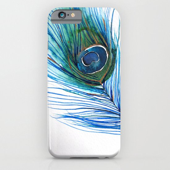 Peacock Feather I iPhone & iPod Case