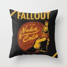 Nuka Cola Throw Pillow