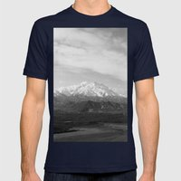 Mt McKinley Mens Fitted Tee Navy SMALL