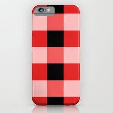 Red squares iPhone 6 Slim Case