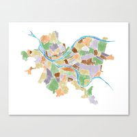 Neighborhoods Canvas Print