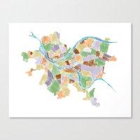 Neighborhoods Canvas Print