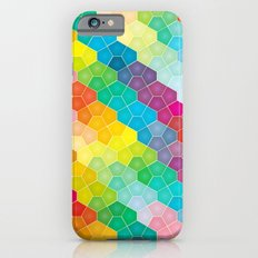 Jewel polygon pattern Slim Case iPhone 6s