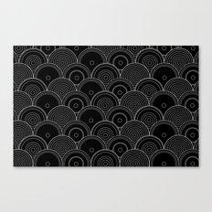 Black & white Idea Canvas Print