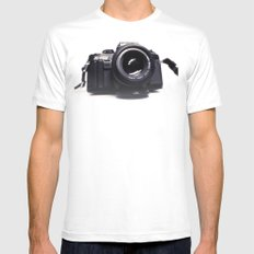 Photographers Love Mens Fitted Tee White SMALL