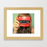 View-Master 3D Framed Art Print