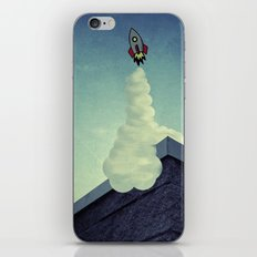 Blast Off iPhone & iPod Skin