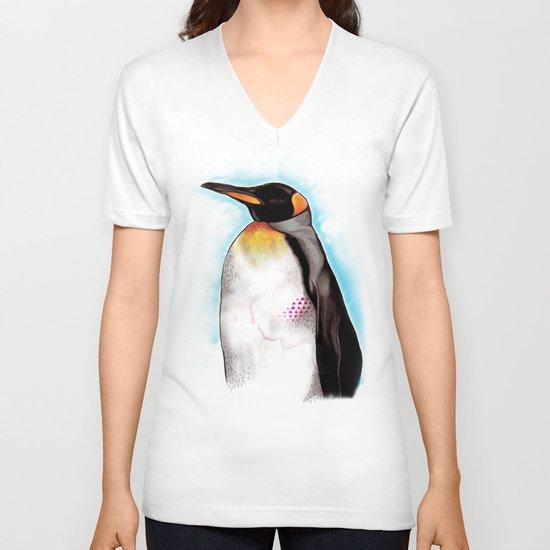 KING V-neck T-shirt