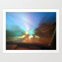 Untitled Road trip Art Print
