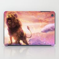 Roaring Space Lion iPad Case