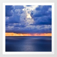 'tween Sea And Sky, Afte… Art Print