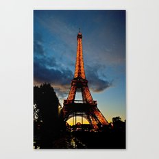 Lighting the Tower Canvas Print