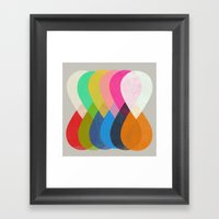 merge 1  Framed Art Print