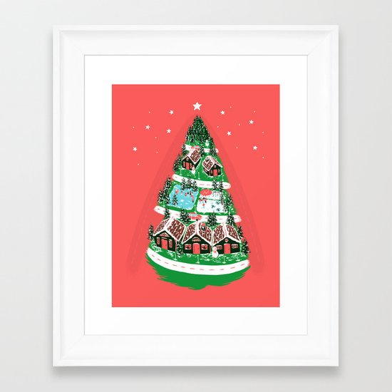 It's begining to look a lot like Christmas Framed Art Print