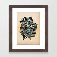 - confess - Framed Art Print