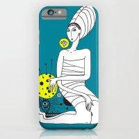 iPhone & iPod Case featuring moon by Zina Kazantseva