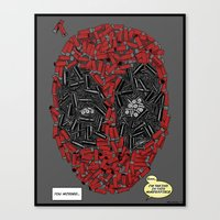 You Missed - Dead-pool C… Canvas Print