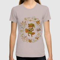 The Legend of Zelda: Mammal's Mask Womens Fitted Tee Cinder SMALL