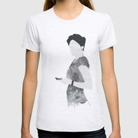 Irene Womens Fitted Tee Ash Grey SMALL