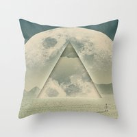 Vice Versa Throw Pillow