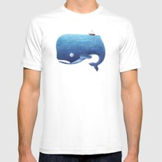 Moby Dick Mens Fitted Tee White SMALL