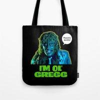 Old Gregg Tote Bag