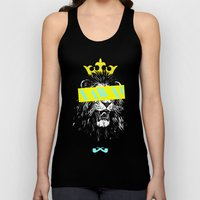 King Of The Jungle. Unisex Tank Top