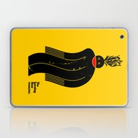 The Burning Flow Monster Laptop & iPad Skin