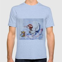 In the intimacy Mens Fitted Tee Athletic Blue SMALL