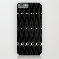 Black pattern iPhone 6 Slim Case