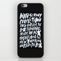 GET BACK IN THE BOX iPhone & iPod Skin