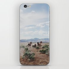 Running Horses iPhone & iPod Skin