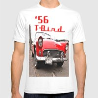 Little Red T-Bird Mens Fitted Tee White SMALL