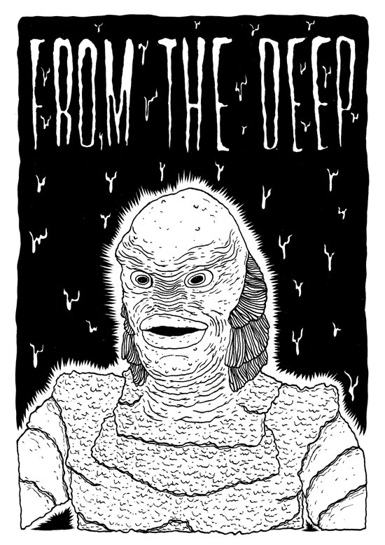 From the Deep Art Print