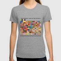 The Periodic Table Of Th… Womens Fitted Tee Tri-Grey SMALL
