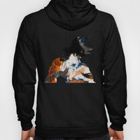 Son Goku - Digital Watercolor Painting Hoody