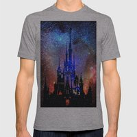 Fantasy Disney. Nebulae Mens Fitted Tee Athletic Grey SMALL