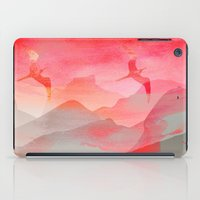 Gliding in Rio's sky. iPad Case