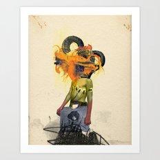 Mingadigm   See Me Art Print