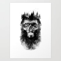 Old Lumberjack Art Print