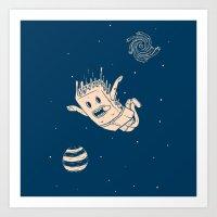 Space Cake Art Print