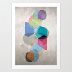 Graphic 100 Art Print