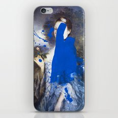 Blue Bomb iPhone & iPod Skin