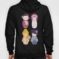 Kokeshis Four Seasons Hoody