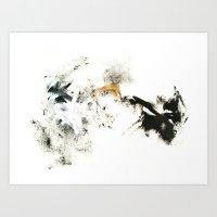 Winter's Meditation Art Print