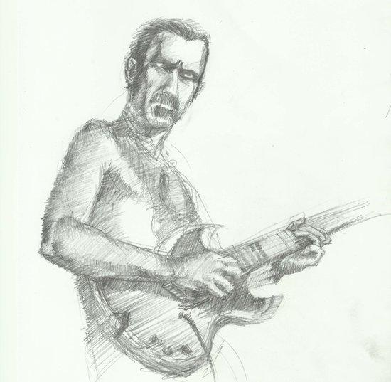 ANALOG zine - Zappa Art Print